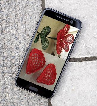 زهور كروشيه رائعه بالباترون screenshot 3