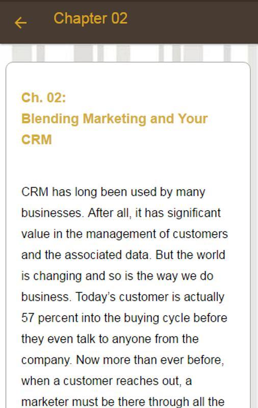 type uneasy relationship marketing