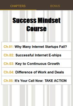 Success Mindset Course poster