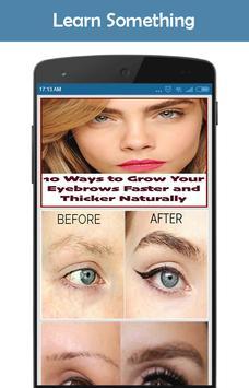 How To Grow Eyebrow screenshot 1