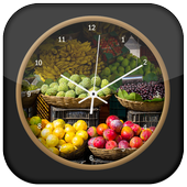 Fruit Clock Live Wallpaper icon