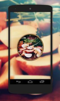 Fruit Clock Live Wallpaper screenshot 3
