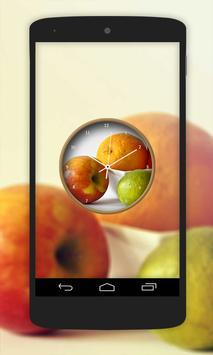 Fruit Clock Live Wallpaper poster