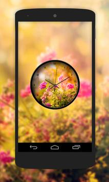 Garden Clock Live Wallpaper poster