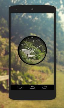 Garden Clock Live Wallpaper screenshot 1