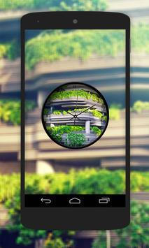 Garden Clock Live Wallpaper screenshot 2
