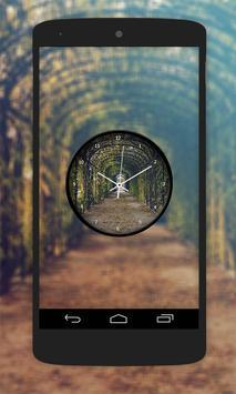 Garden Clock Live Wallpaper screenshot 4