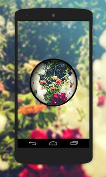 Garden Clock Live Wallpaper screenshot 5