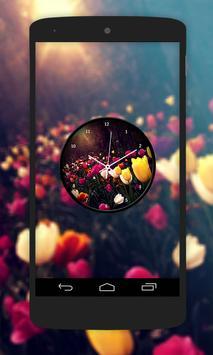 Garden Clock Live Wallpaper apk screenshot