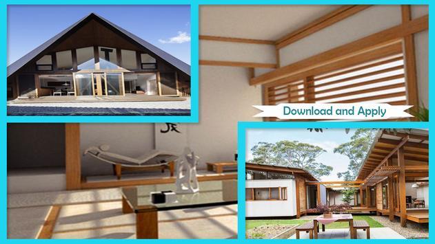 Unique Japanese Home Design screenshot 2