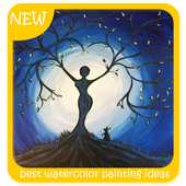 Best Watercolor Painting Ideas icon