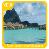 Blue Lagoon Live Wallpaper icon