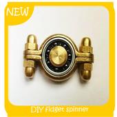 Simple DIY Fidget Spinner icon