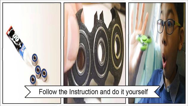 Simple DIY Fidget Spinner apk screenshot