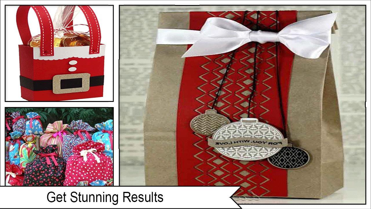 Christmas Gift Bags Diy.Easy Diy Christmas Gift Bags Pour Android Telechargez L Apk