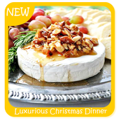 Luxurious Christmas Dinner Recipes Guide icon