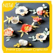 Pretty DIY Flower Crafts for Princess Hair icon