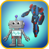 Robot Games For Toddlers Free icon