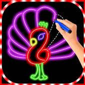 Glow Draw Birds icon