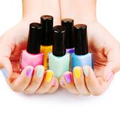 Nail polish art 2017 icon