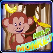 Help Monkey Game icon