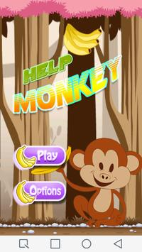 Help Monkey Game poster