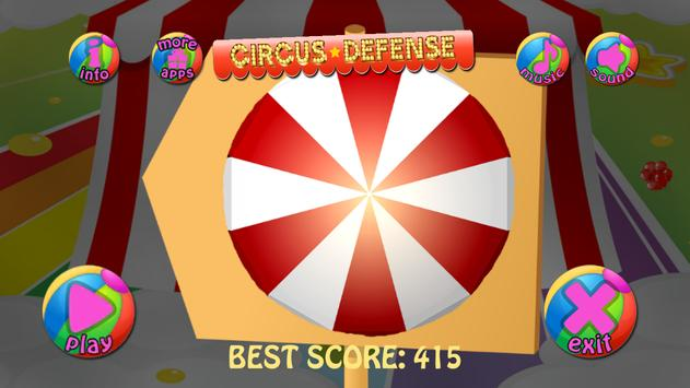 Circus Defense screenshot 1