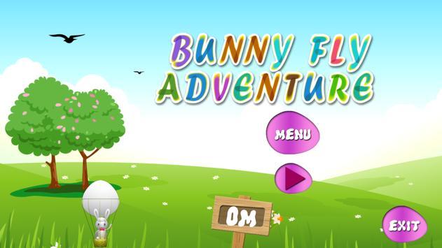 Bunny Fly Adventure screenshot 1