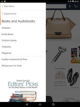 Amazon para Tablets captura de pantalla de la apk