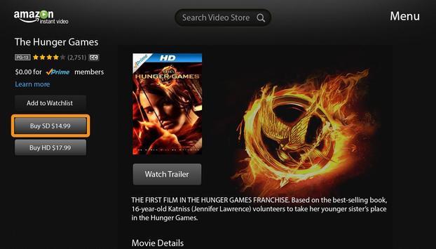 Amazon Instant Video-Google TV screenshot 2