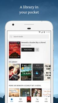 Kindle captura de pantalla de la apk