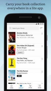 Amazon Kindle Lite – 2MB. Read millions of eBooks (Unreleased) screenshot 1