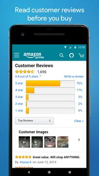 Amazon Shopping APK-Bildschirmaufnahme