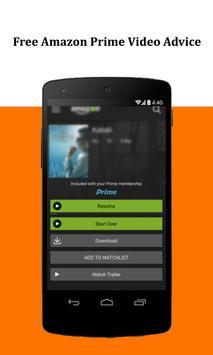 Free Amazon Prime Video Advice apk screenshot