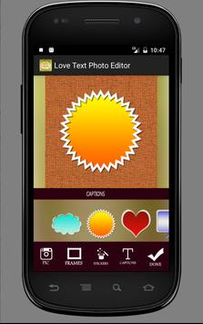 Love Text Photo Editor apk screenshot