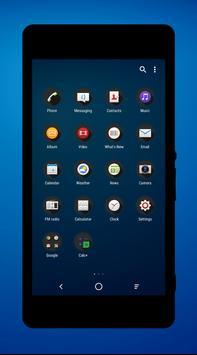 Icon Pack Modern Dark apk screenshot
