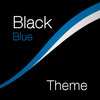 Black - Blue Theme for Xperia アイコン
