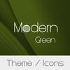 Modern Green Theme  + Icons simgesi