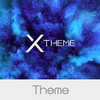 xBlack - Indigo Theme for Xperia 圖標