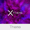 xBlack - Purple Theme for Xperia