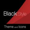 Black Red Premium Theme 圖標
