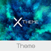 xBlack - Teal Theme for Xperia アイコン