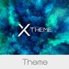 xBlack - Teal Theme for Xperia simgesi
