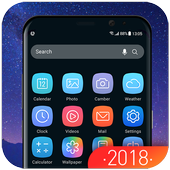 Galaxy Launcher Theme 2018 icon
