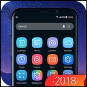 Galaxy Launcher Theme 2018 icon
