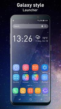 Galaxy Launcher Theme 2018 poster