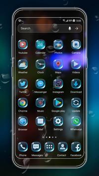 2018 Waterdrop Launcher Theme screenshot 2
