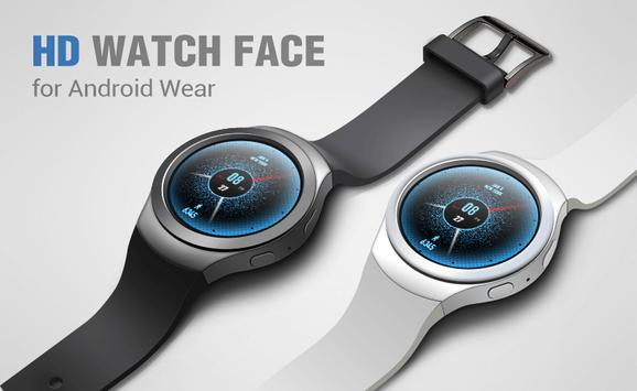 Free Watch Face for Android Wear imagem de tela 2