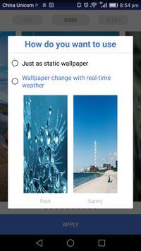 Amazing Weather wallpaper HD apk screenshot