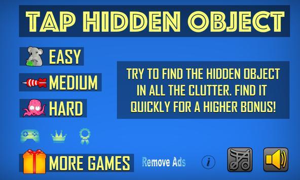 Tap Hidden Object poster